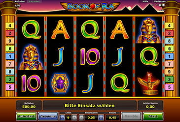 casino slots online book of ra gewinnchancen