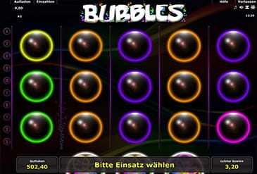 internet casino online bubbles spielen