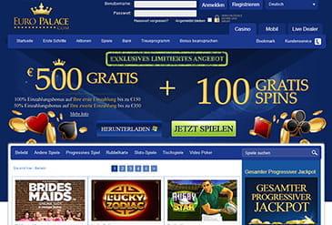 euro palace online casino erfahrung
