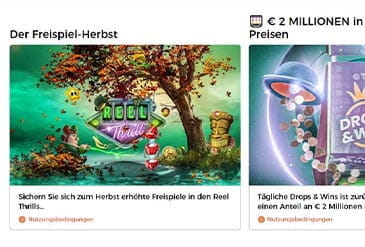 Vorschaubild Mr Green Casino Bonus