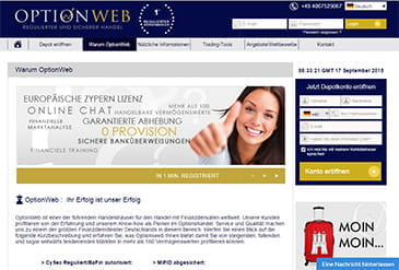 Vorschaubild Option Web Regulierung