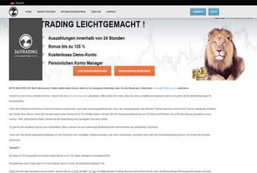 365 Trading Erfahrung