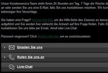 Vorschaubild Support Casino-Mate
