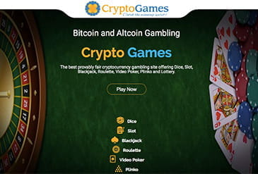Homepage vom Crypto-Games.net