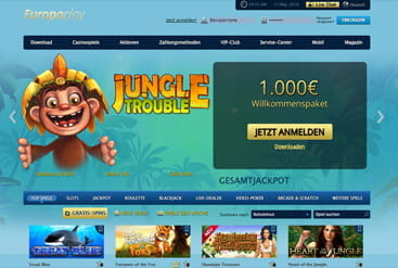 Vorschaubild Support Europaplay Casino