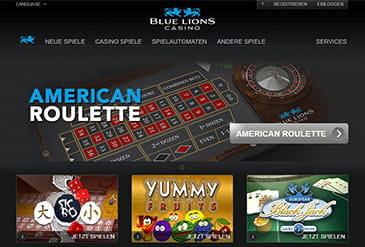 blue lion casino