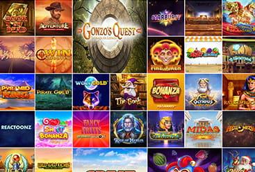 Vorschaubild Spielauswahl DrückGlück Casino