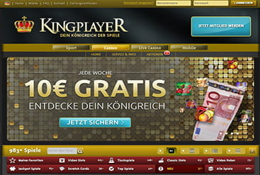 Vorschaubild KINGPLAYER Support