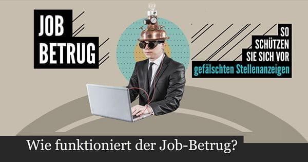 Wie funktioniert der Job-Betrug