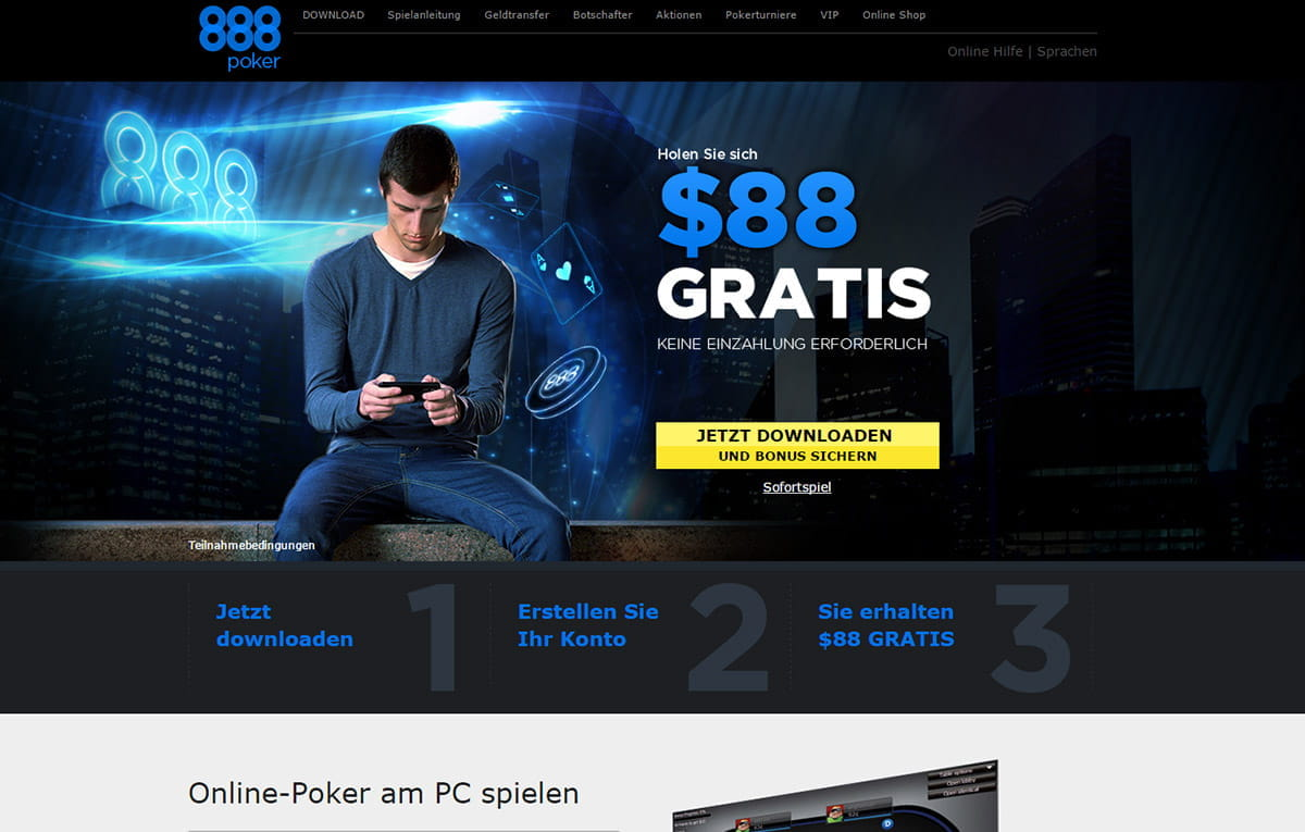 888 poker support hotline