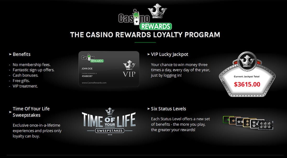 Casino Rewards Erfahrung