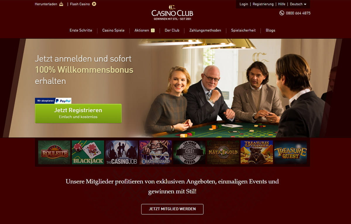 casino club betruger