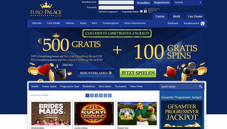 europalace casino auszahlung
