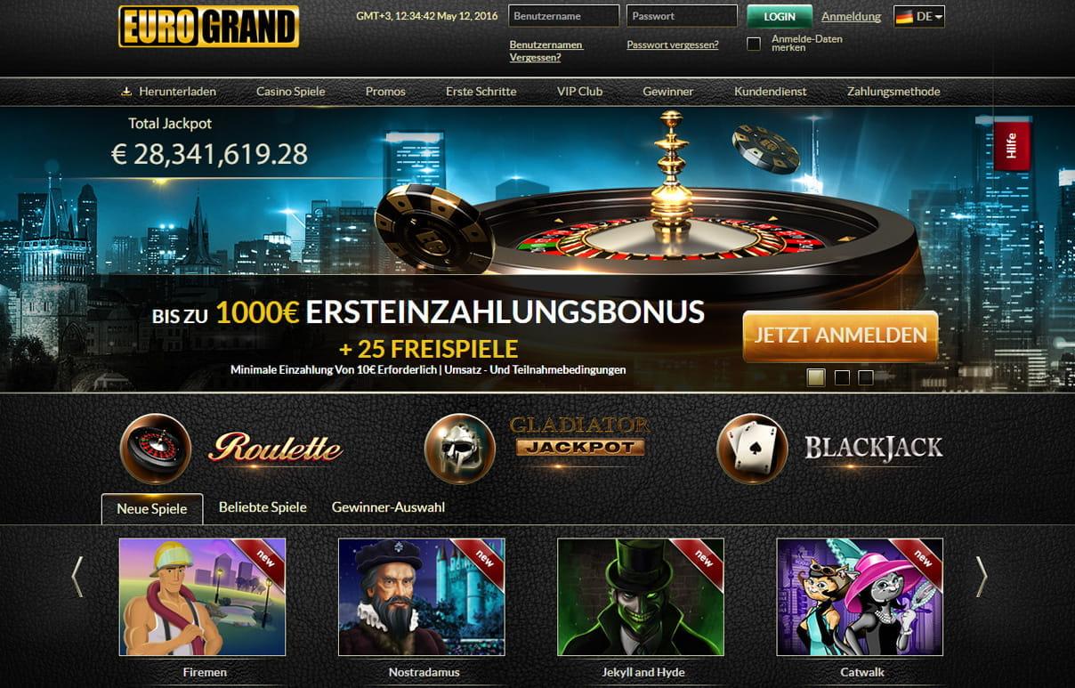 Eurogrand Casino Erfahrungen