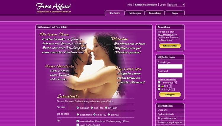 first affair kosten