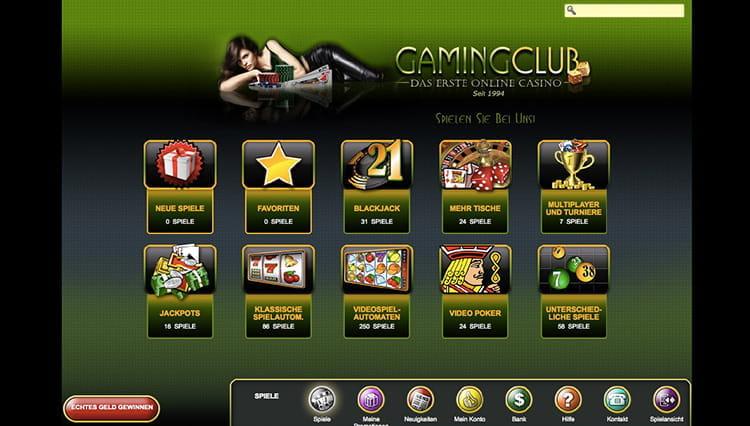 gaming club casino erfahrungen