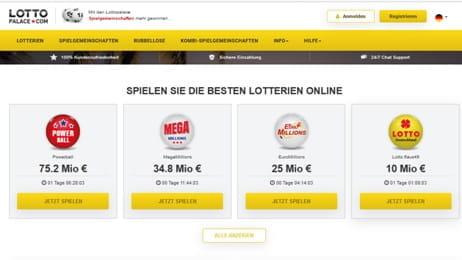 Lottopalace Betrug