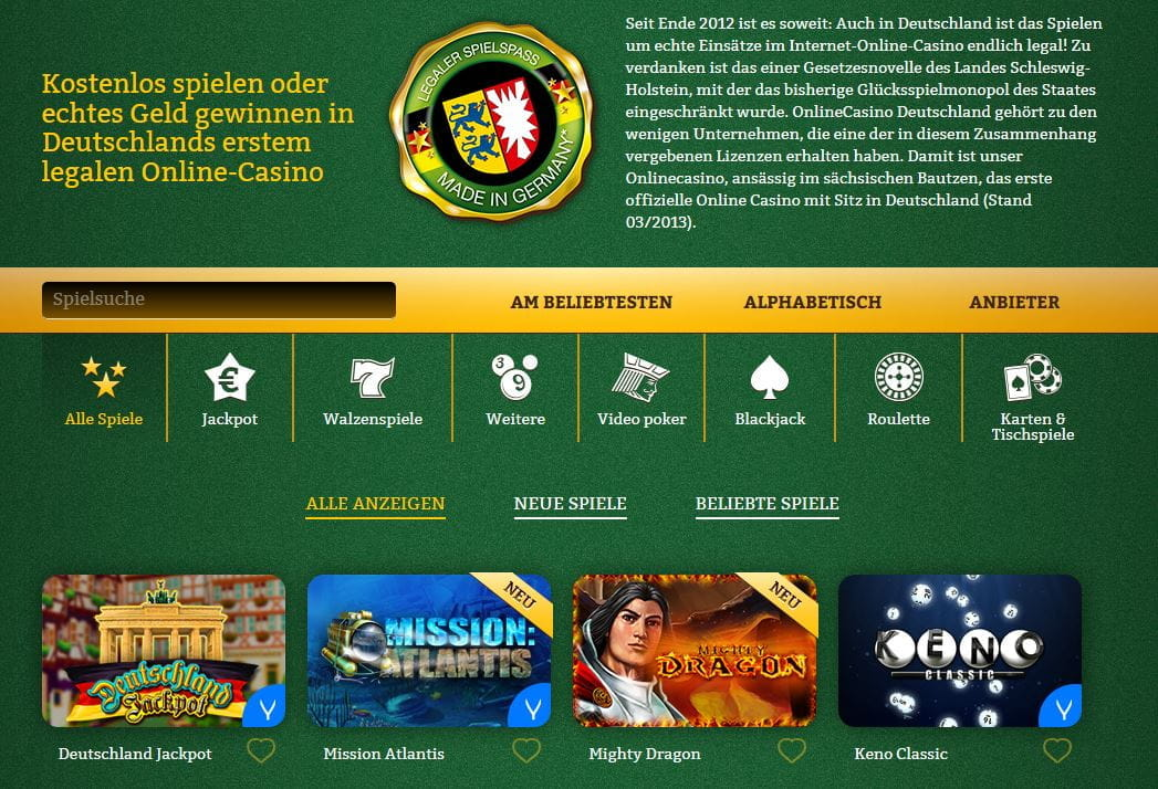online casino video poker onlinecasino.de