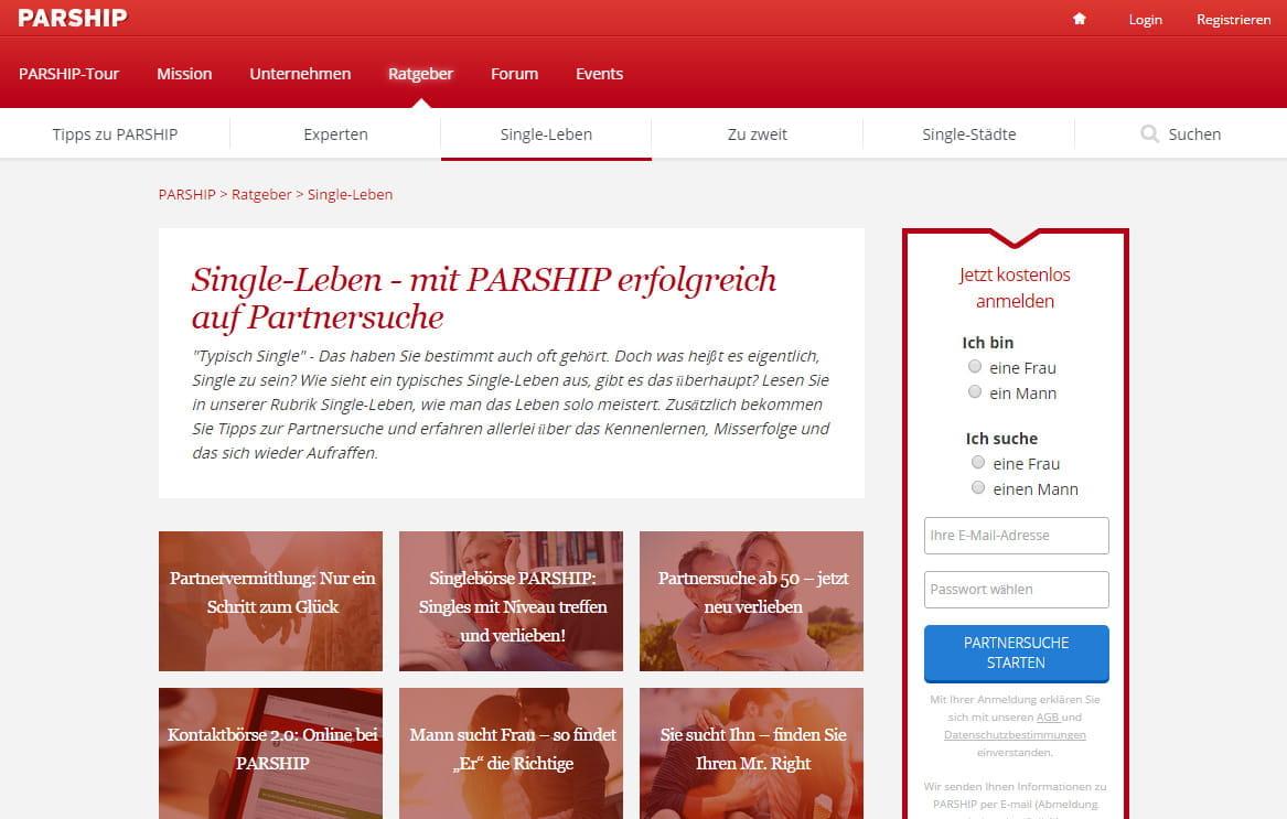 profil löschen parship