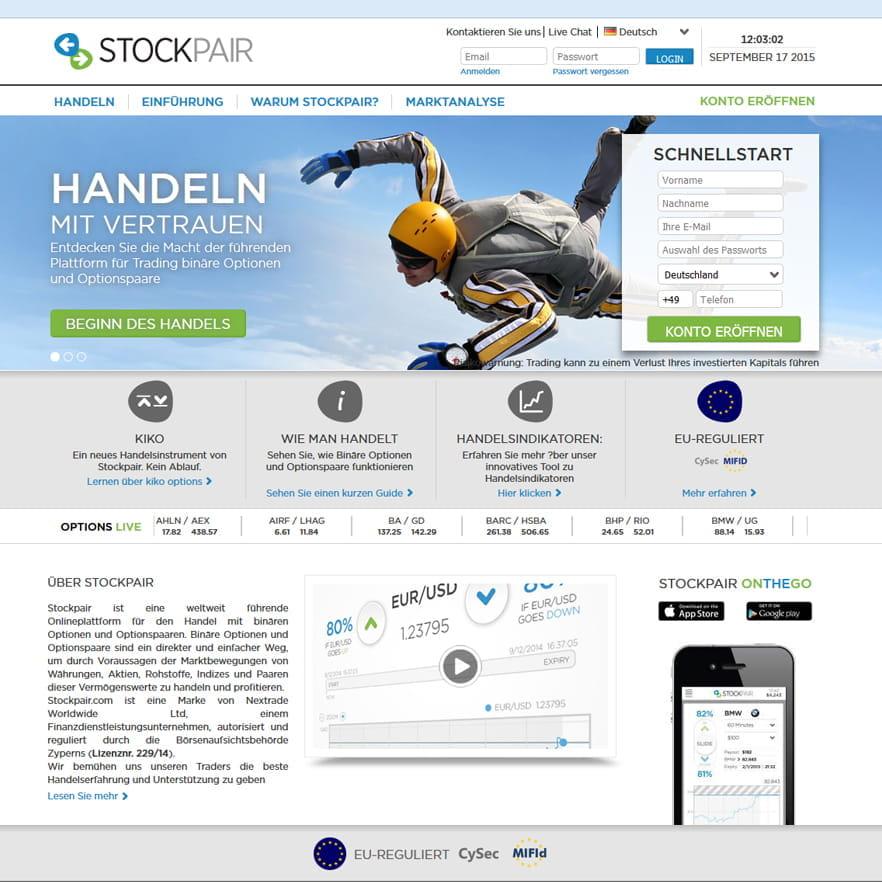 aktienhandel online kurs kostenlos stockpair erfahrung test betrug oder seriös?