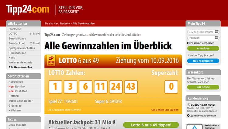 Euromillions Tipp24