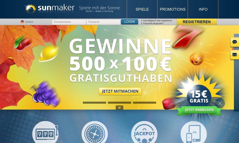 Sunmaker Oder Stargames