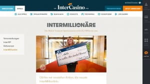 InterCasino Gewinn