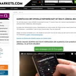 Markets.com FC Arsenal