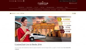 CasinoClub Live in Berlin