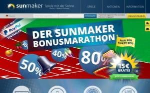Sunmaker Bonusmarathon