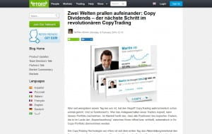 eToro Copy Dividends