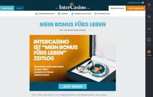Intercasino Mein Bonus fürs Leben