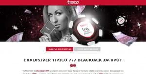 Tipico Blackjack Jackpot