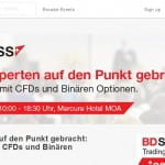 BDSwiss Live Seminar