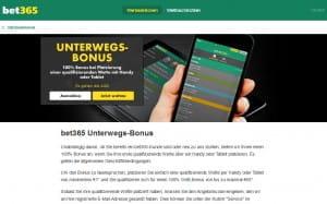 bet365 Unterwegs Bonus