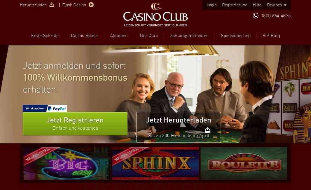 casino club mobil