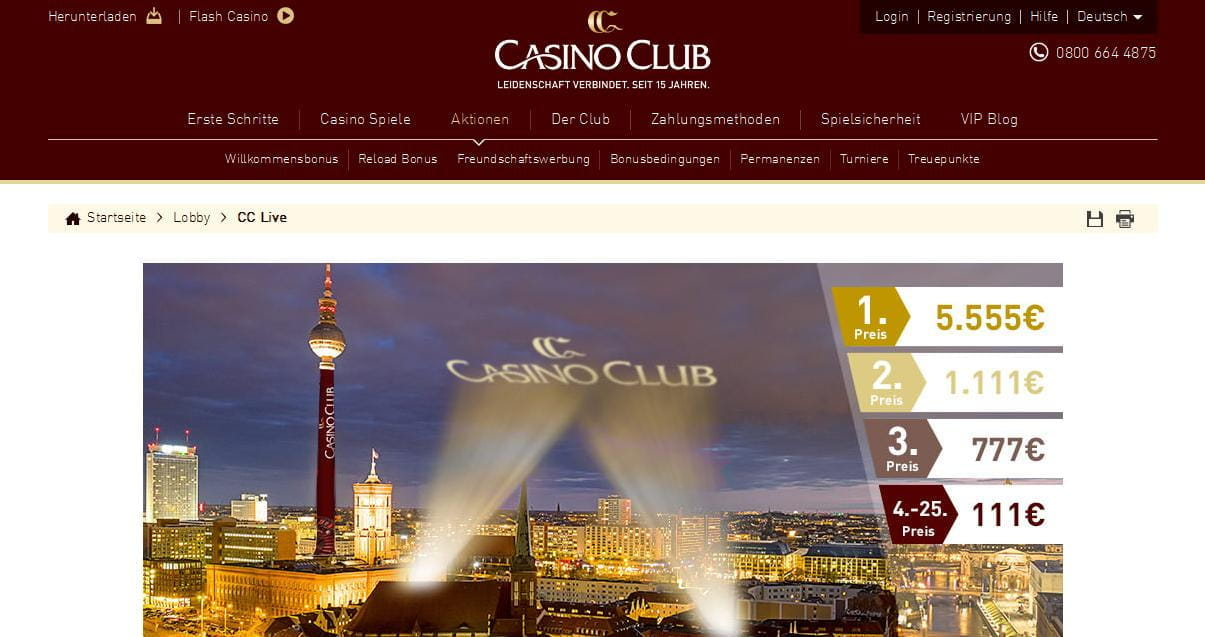 casino club berlin