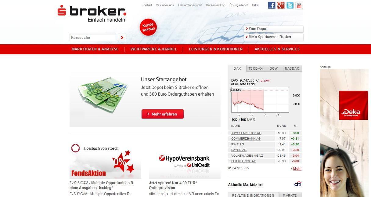 Sparkassen broker test online