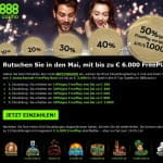 888Casino Freeplay
