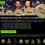 888Casino Freeplay