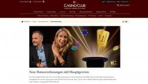 CasinoClub Bonusverlosung