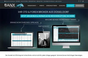 BANX Trading Aktion