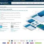 Webseite von Anyoption.