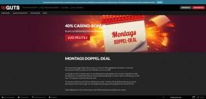 Guts.com Montag Dopper Deal