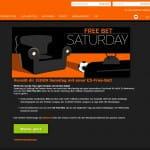 888Sport Free-bet Saturday