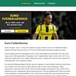 bet365 Euro-Fußballbonus