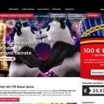 Royal Panda 175 Freispiele