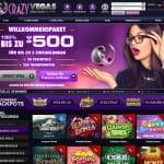 Crazy Vegas Match-Bonus