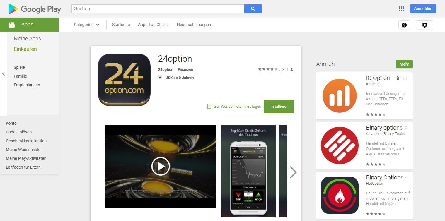 24option App