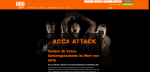 888 Sport Acca Attack Aktion